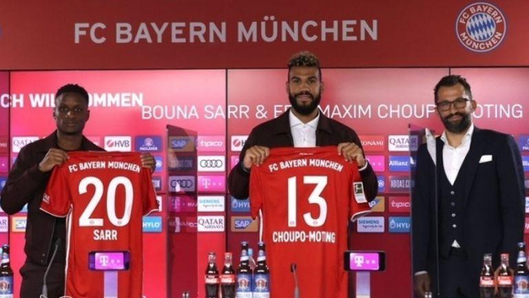 Чупо-Мотинг след двата гола за Байерн: Добър дебют
