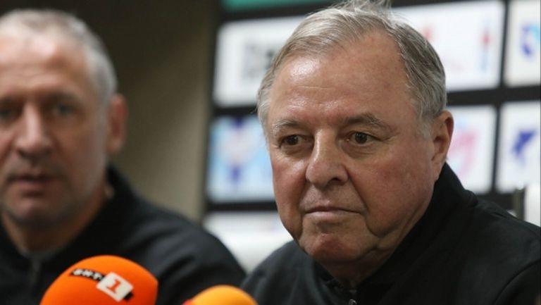 Тарханов: Нивото на футбола в България е по-високо от предния ми престой