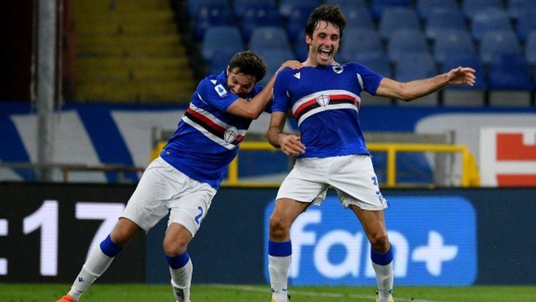 Сампдория отнесе Лацио (видео)