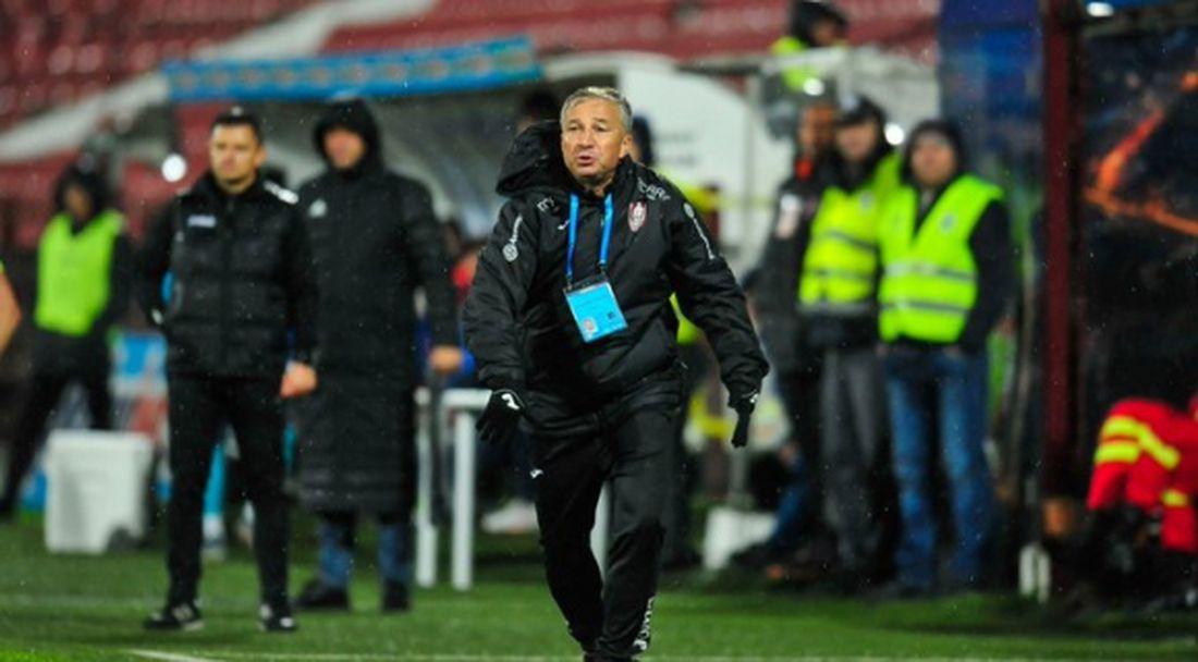ЧФР Клуж с трудна победа, червен картон за треньора Петреску