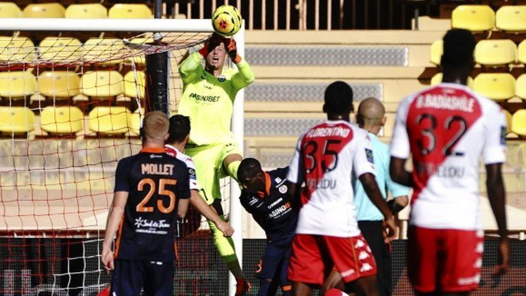 Дузпа спаси Монако срещу десетима от Монпелие (видео)