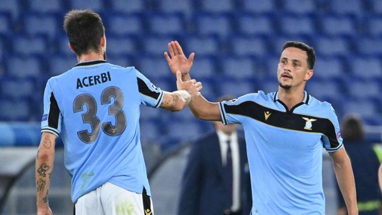 Лацио се завърна ударно в Шампионската лига (видео)