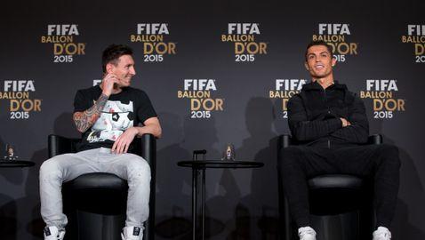 Меси пожела бързо оздравяване на Роналдо