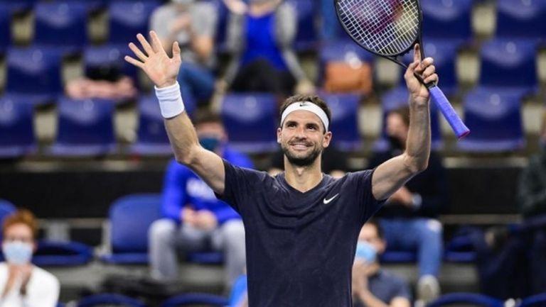 Григор на полуфинал в Антверп