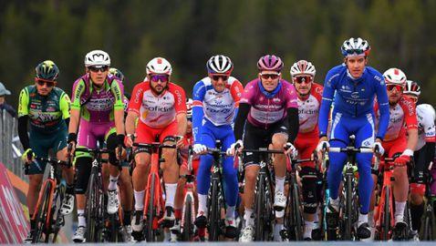 Съкратиха 19-ия етап на Джирото заради лошо време