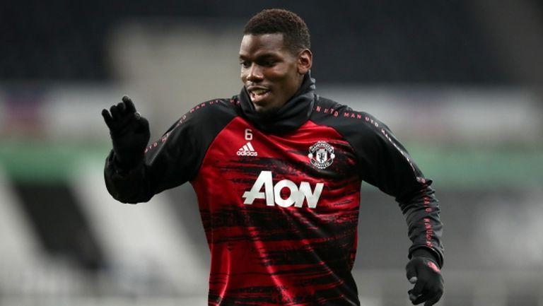 Юнайтед иска Погба да подпише нов договор, но без да му увеличава заплатата