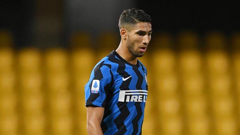 Интер се готви да съди УЕФА заради теста на Хакими