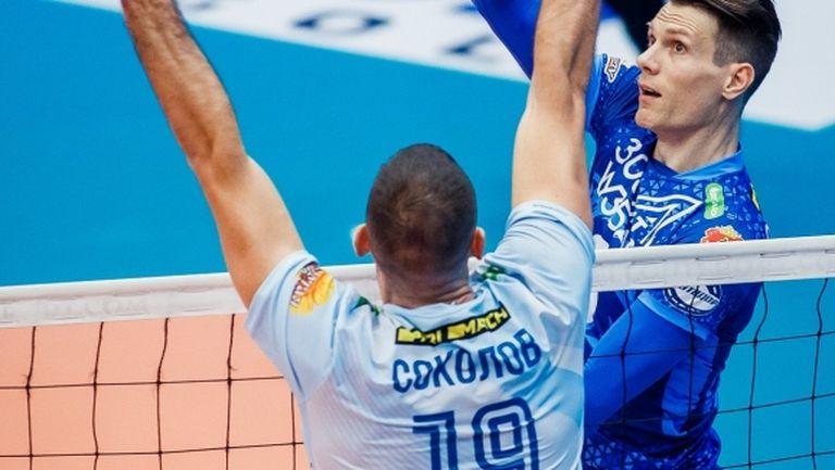 И Кузбас не спря Цецо Соколов и Динамо в Русия (видео + снимки)