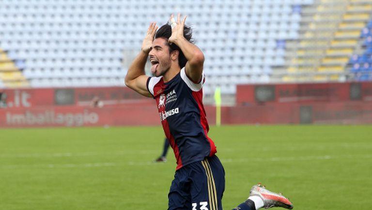Пет гола за едно полувреме украсиха нов успех на Каляри (видео)
