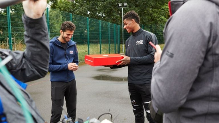 Ман Юнайтед ще подкрепи инициативата на Рашфорд за безплатен обяд на деца