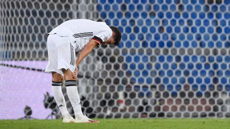 Бундестимът загуби важен играч за следващите три мача