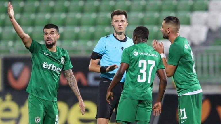 УЕФА глоби Лудогорец със 7500 евро за картони
