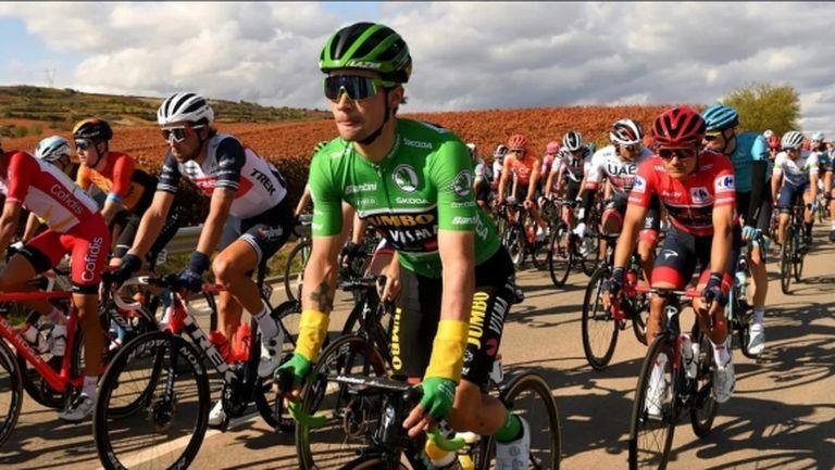 Примож Роглич спечели осмия етап от Обиколката на Испания