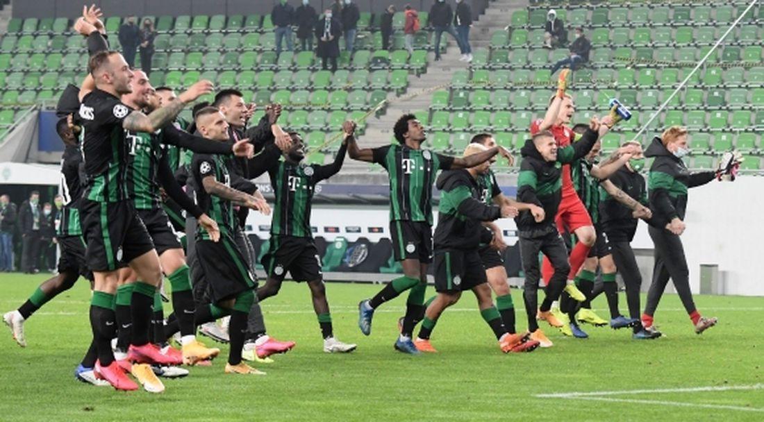 Динамо (Киев) изпусна победата в Унгария (видео)