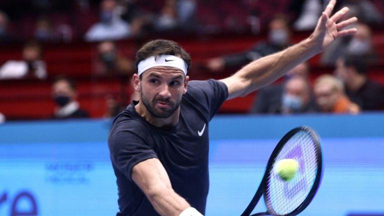 Григор Димитров отново на корта днес в търсене на 1/2-финал във Виена
