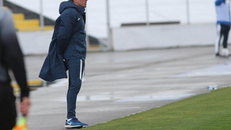 Живко Миланов като старши треньор на Левски