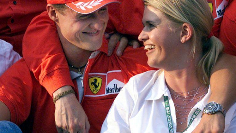 Корина Шумахер проговори за състоянието на Михаел