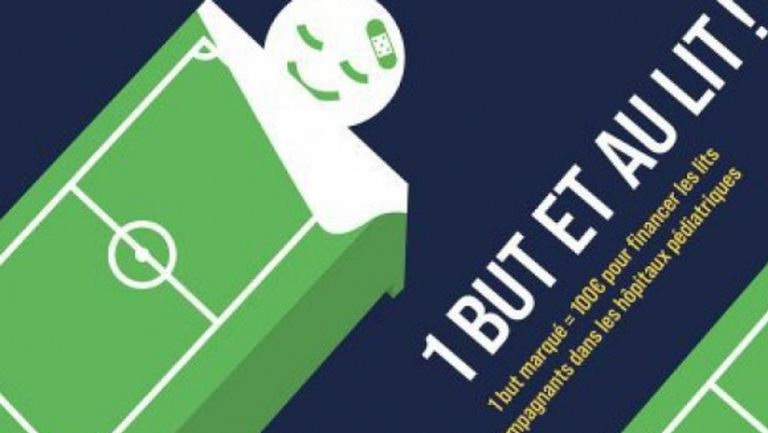 Френският футбол с щедро дарение за болните деца и родителите им