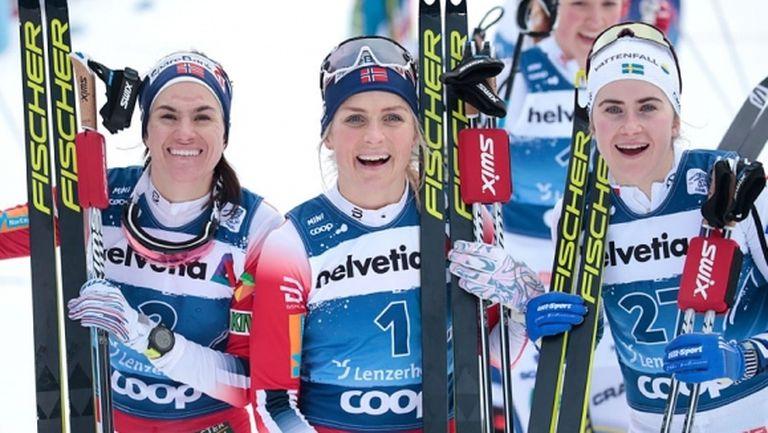 """Позната доминация на Терезе Йохауг и на старта на """"Тур дьо ски"""""""