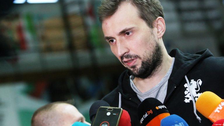 Виктор Йосифов: Надявам се да имам честта да завърша с националния отбор на Олимпиадата (видео)