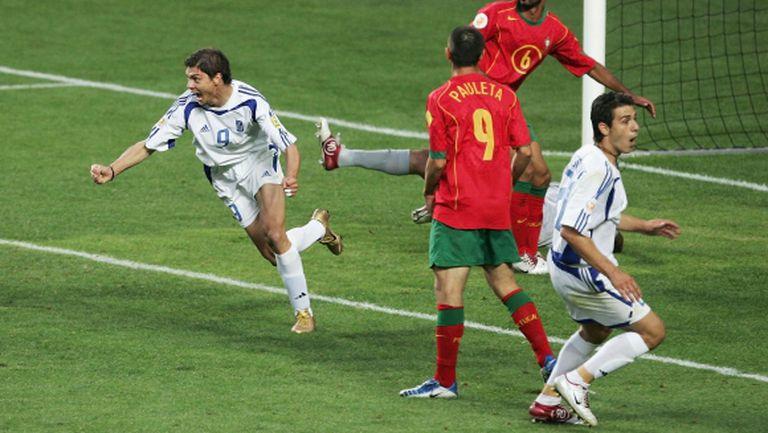 Героят от финала на Евро 2004 идва в София за българско крило