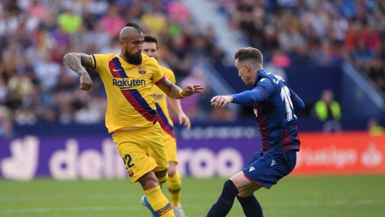 Видал призна за финансовия проблем с Барселона