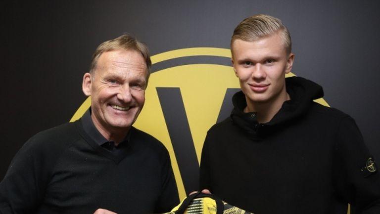 Трансферната сага приключи, Ерлинг Холанд има нов отбор!