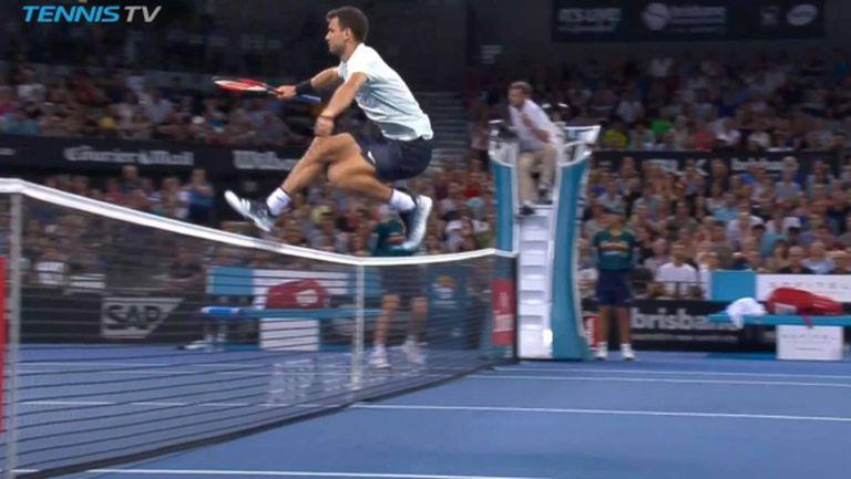 Григор Димитров - един от джентълмените на десетилетието в тениса (видео)