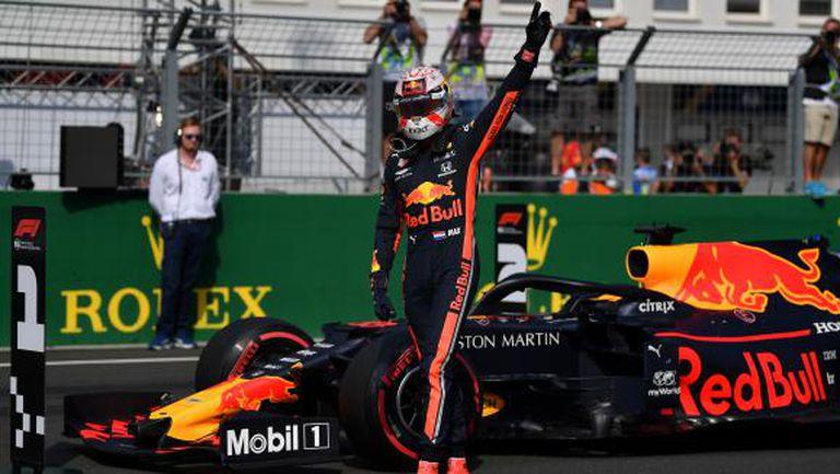 Верстапен спечели квалификацията за Гран При на Унгария