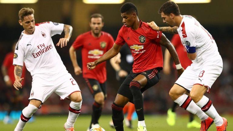 Дузпи донесоха успеха на Ман Юнайтед срещу Милан