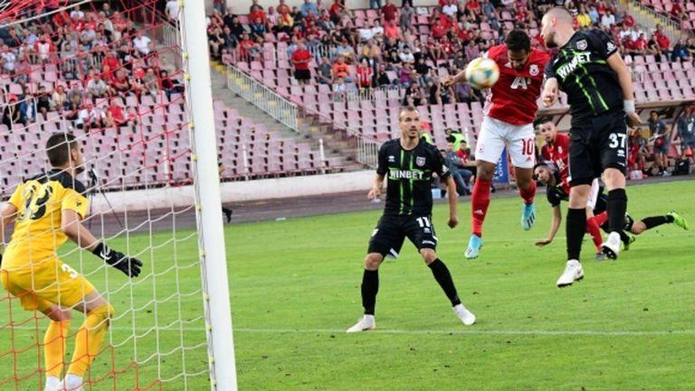 И отново Евандро! Бразилецът пак спаси безличен ЦСКА-София (видео+галерия)