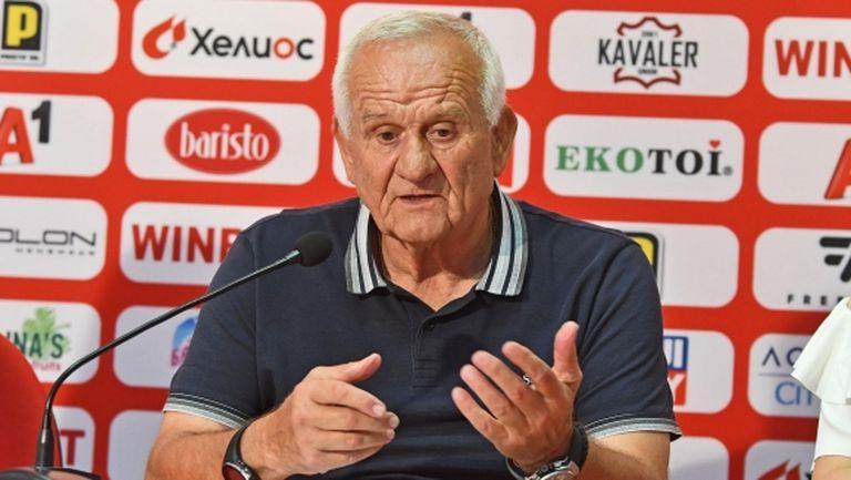 Люпко Петрович: Зоря са абсолютно преодолим съперник