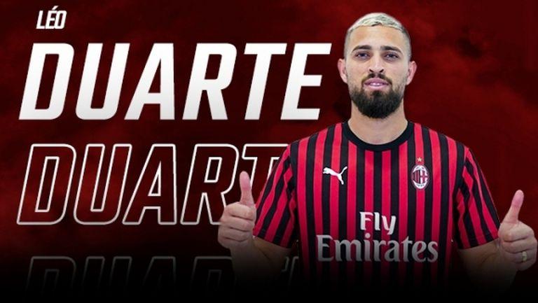 Милан представи най-новия си бразилец