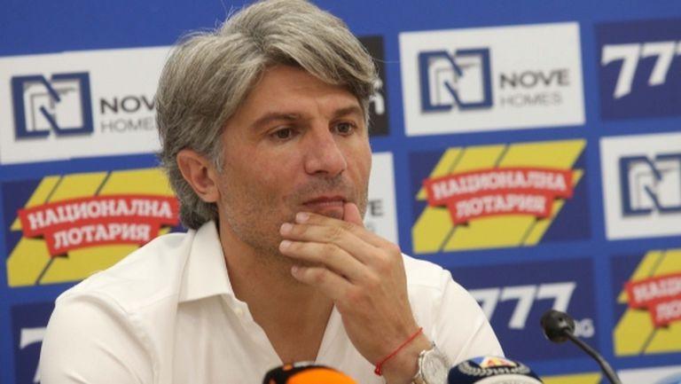 Новият спортен директор на Левски: Имаме нужда от още двама играчи