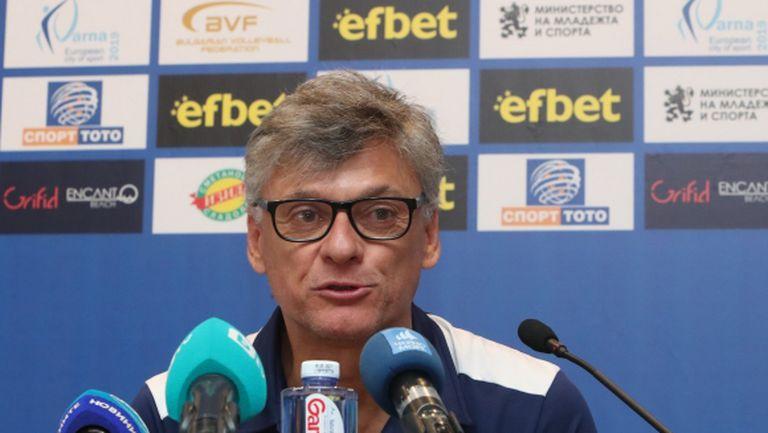 Ренан Дал Зото: Българският отбор е един от най-силните в света