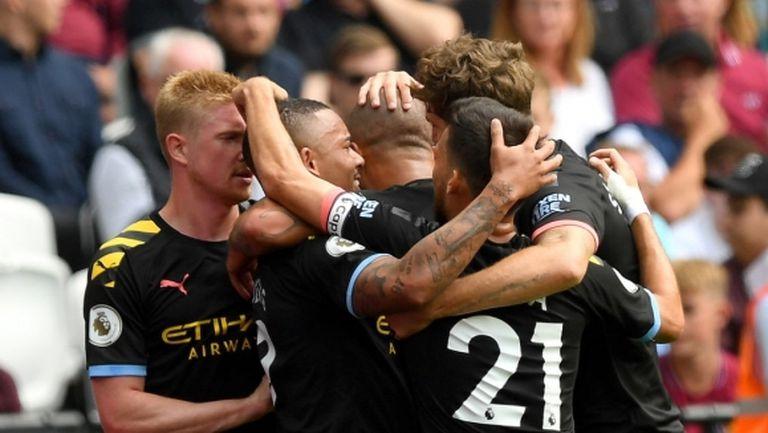 Ман Сити отговори на Ливърпул с пет гола, ВАР вече е главно действащо лице в Премиър лийг (видео)