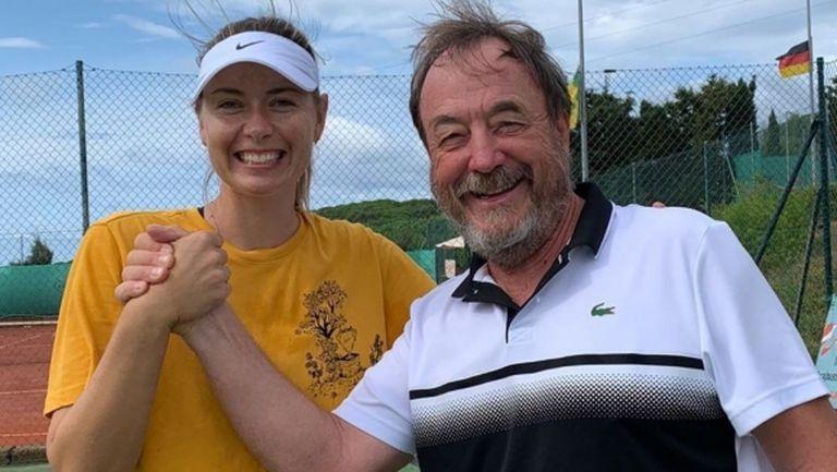 Мария Шарапова ще работи с Рикардо Пиати поне до US Open