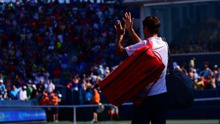 Федерер с най-бърза загуба от 16 години