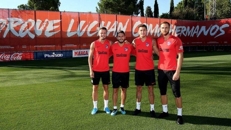 Атлетико обяви четиримата капитани