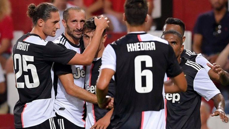 Юве загря за Парма със страхотен гол на Дибала