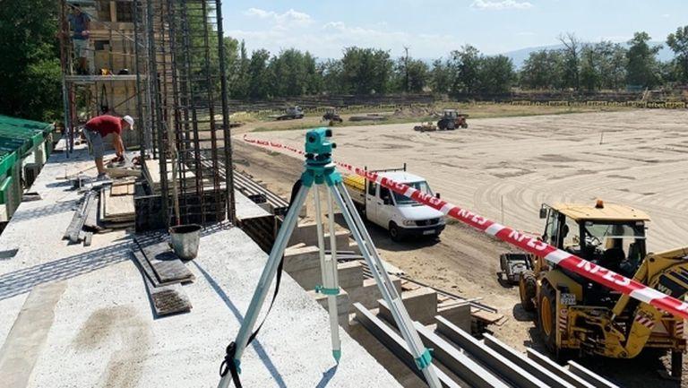Стадионът на Хебър ще е готов през есента на 2020 година