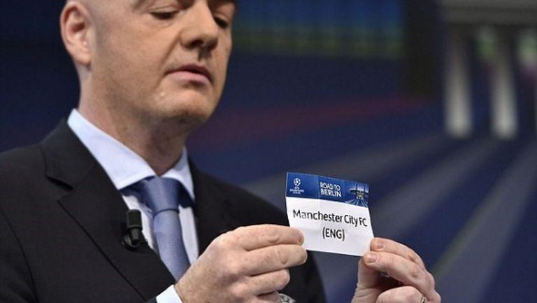 УЕФА си вкара автогол с допускането на Сити до жребия в ШЛ