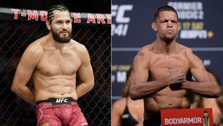 Потвърдено: Нейт Диас срещу Хорхе Масвидал в основната среща на UFC 244