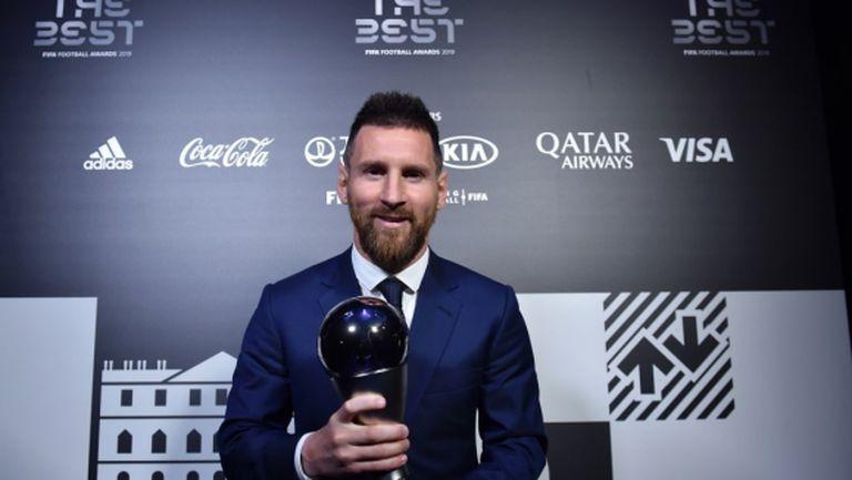 Лионел Меси спечели  FIFA The Best, Клоп е треньор на годината (галерия)