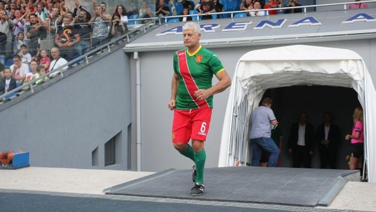 Златко Янков посъветва младите: Играйте 90 минути и търсете победата