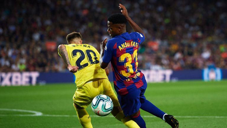 Травма застигна още един от Барселона