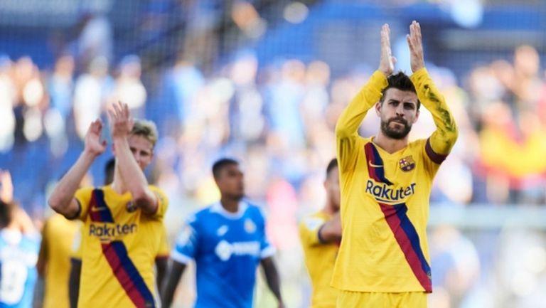 Напрежение между футболистите и шефовете на Барселона