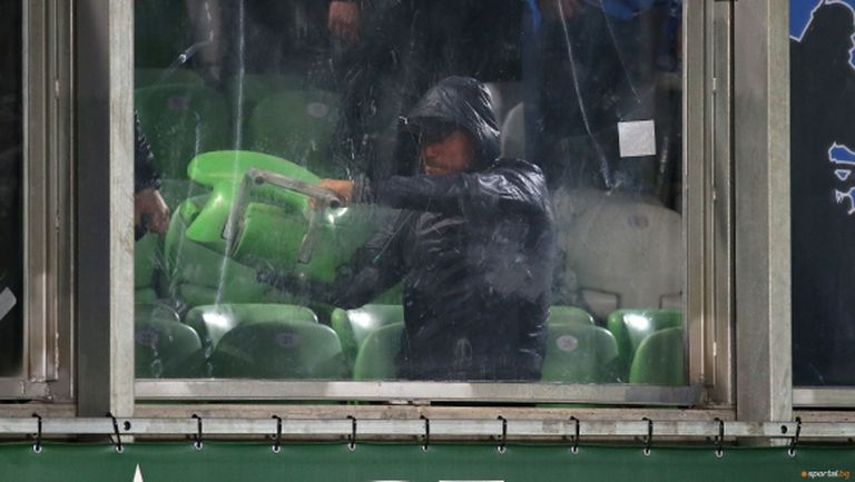 МВР отчете спад на футболното хулиганство
