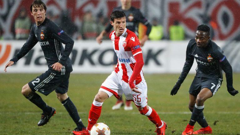 Цървена звезда - ЦСКА (Москва) 0:0