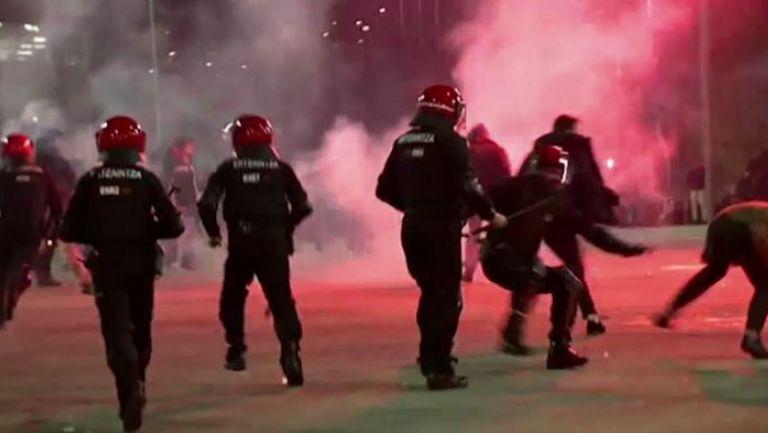Полицай почина в Билбао след сблъсък с руски фенове